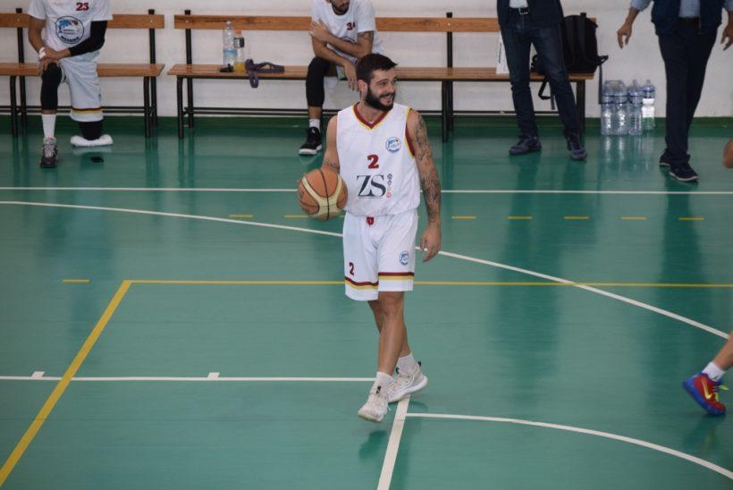 La ZS Group Messina perde il play Nino Sidoti per un brutto infortunio